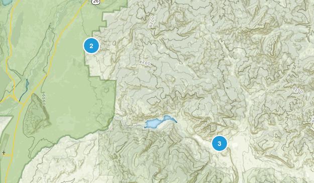 Kelly, Wyoming Views Map