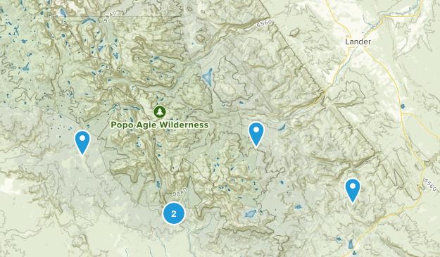 Lander, Wyoming Birding Map