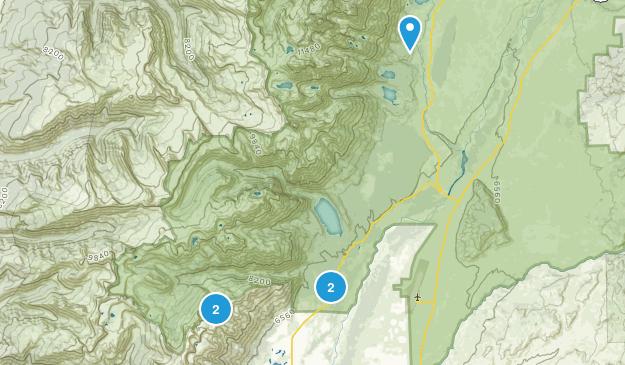Teton Village, Wyoming Camping Map