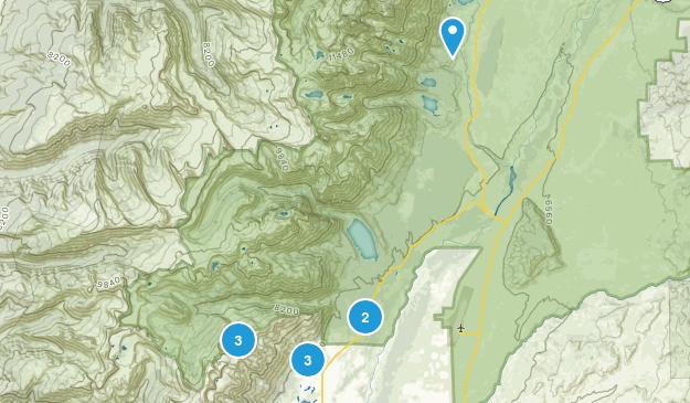 Teton Village, Wyoming Hiking Map