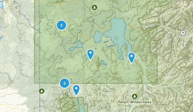 West Yellowstone, Wyoming Birding Map