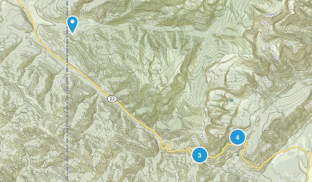 Wilson, Wyoming Views Map