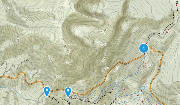 Wilson, Wyoming Walking Map