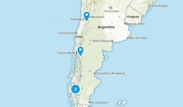 Argentina Camping Map