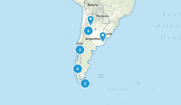 Argentina Views Map