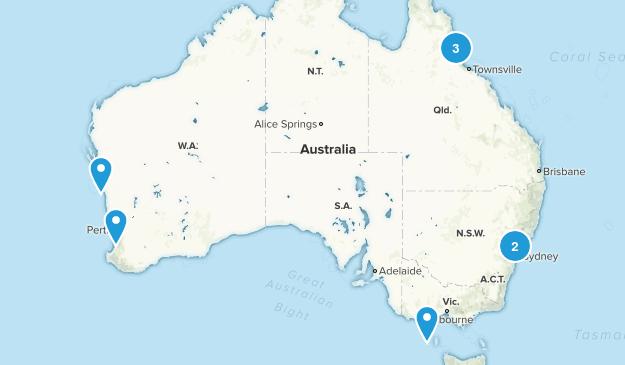 Australia Wheelchair Friendly Map