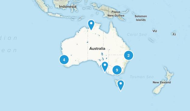 Australia Cave Map