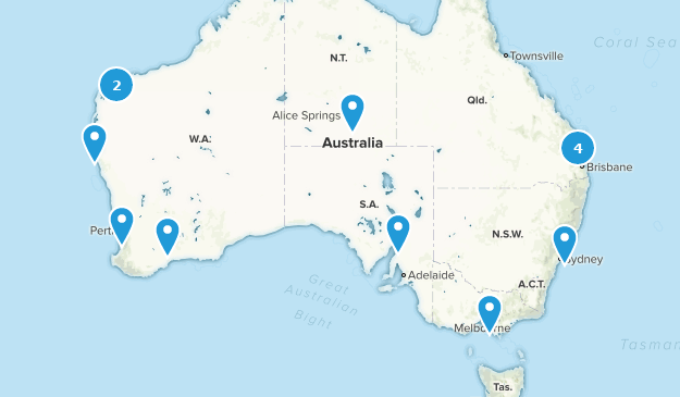 Road Map Of Australia.Best Off Road Driving Trails In Australia Alltrails