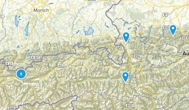 Austria Wild Flowers Map