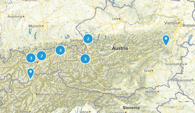 Austria Wildlife Map