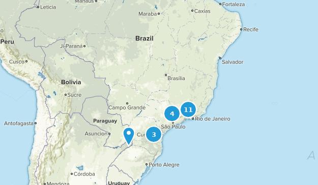 Brazil Nature Trips Map