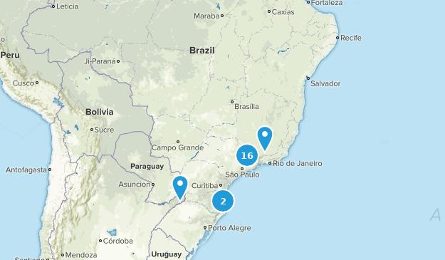 Brazil Views Map