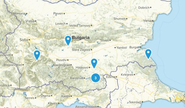 Bulgaria Birding Map