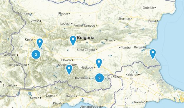 Bulgaria Nature Trips Map