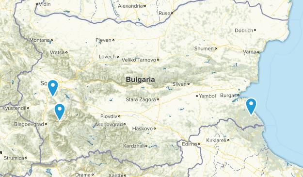 Bulgaria Parks Map