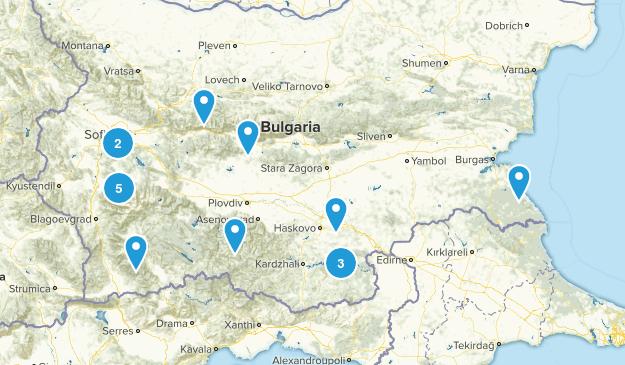 Bulgaria Views Map