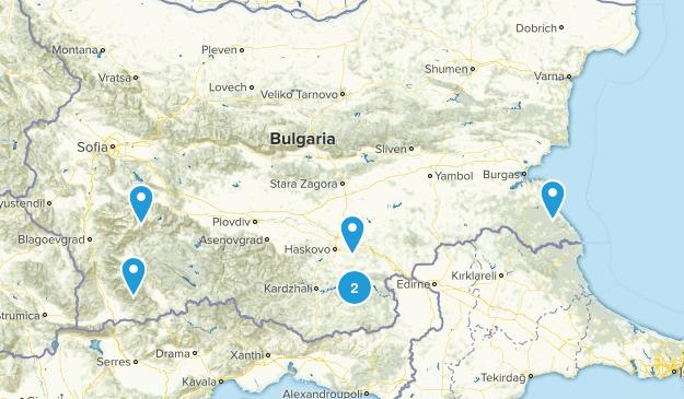 Bulgaria Wildlife Map