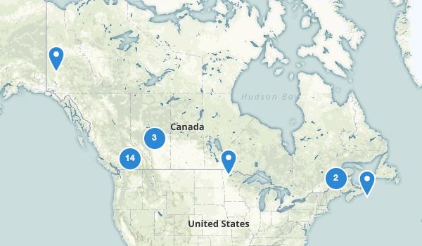 Canada Scenic Driving Map