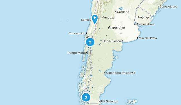 Chile Birding Map