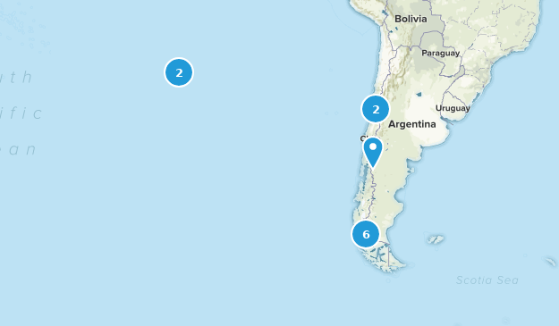 Chile Kid Friendly Map