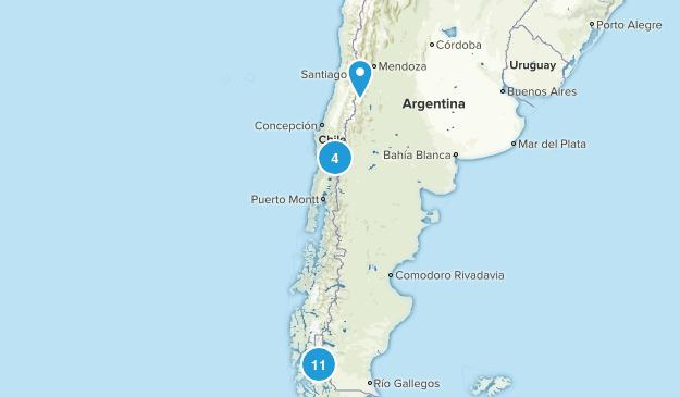 Chile Lake Map