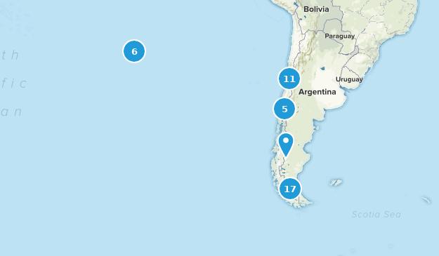 Chili Nature Trips Map