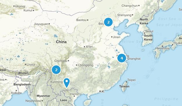 China Lake Map