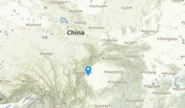 China National Parks Map