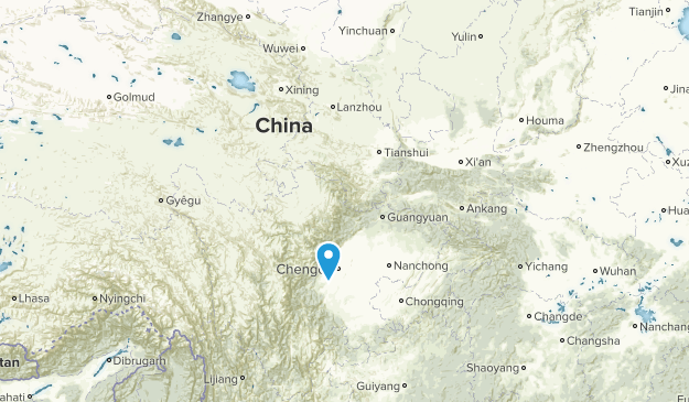 China National Parks Map