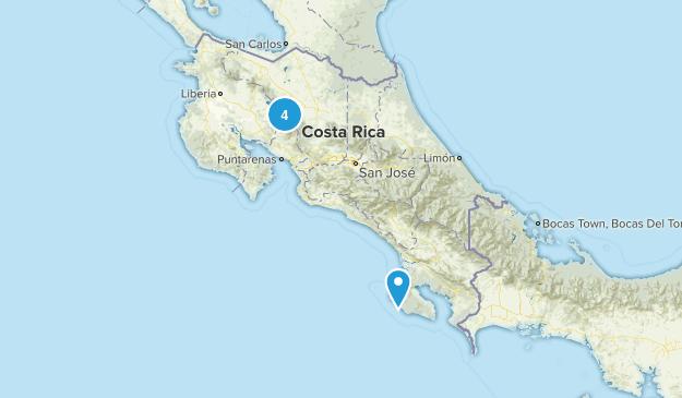 Costa Rica No Dogs Map