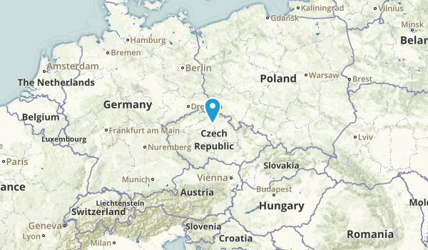 Czech Republic Parks Map