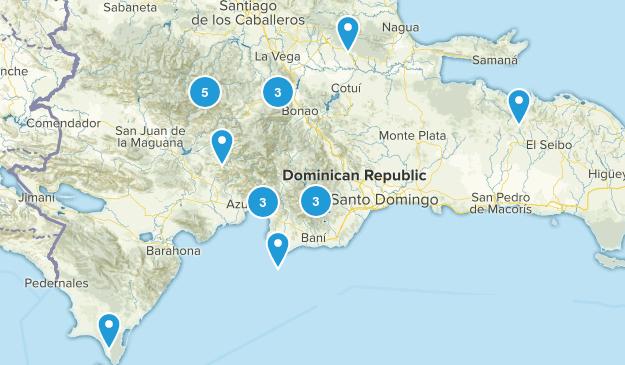 Dominican Republic Parks Map