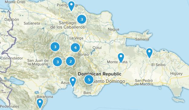 Dominican Republic River Map