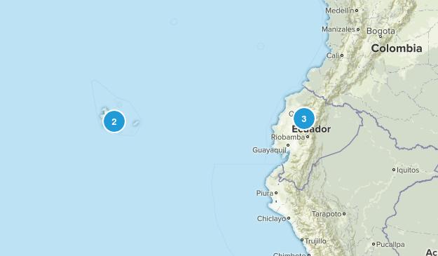 Ecuador Nature Trips Map