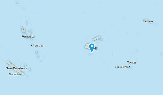 Fiji Parks Map