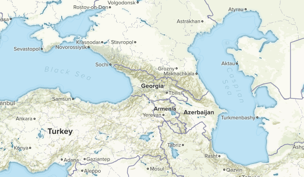 Georgia National Parks Map