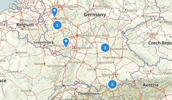 Germany Birding Map