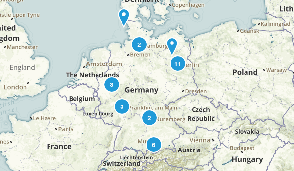 germany kid friendly map