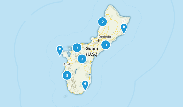 Guam Forest Map