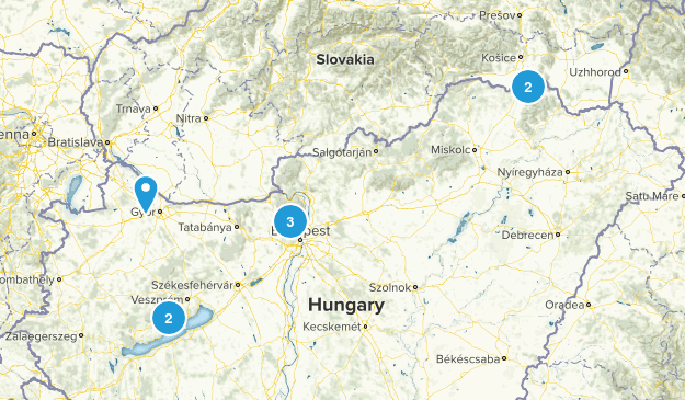 Hungary Views Map