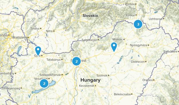 Hungary Walking Map