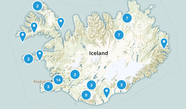 Iceland Views Map