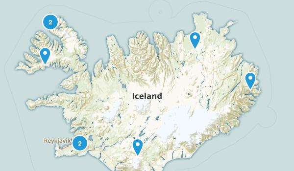 Iceland Wildlife Map