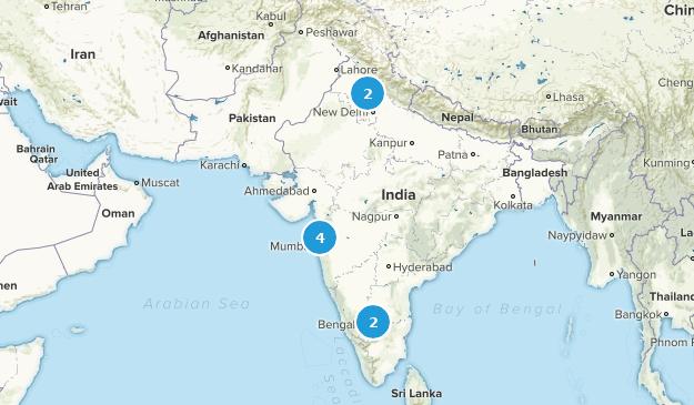 India Kid Friendly Map