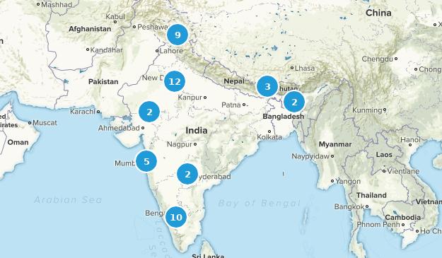India Views Map