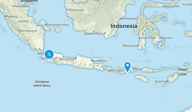 Indonesia No Dogs Map
