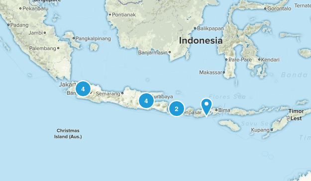 Indonesia Forest Map