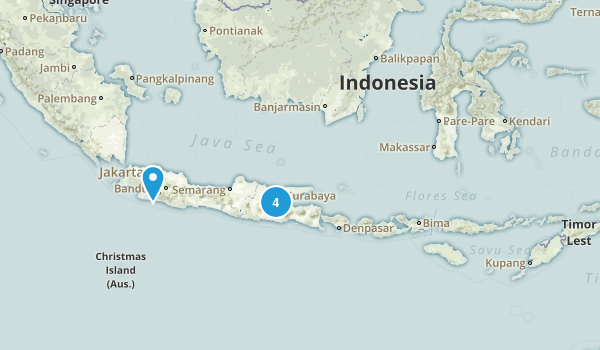 Indonesia Parks Map