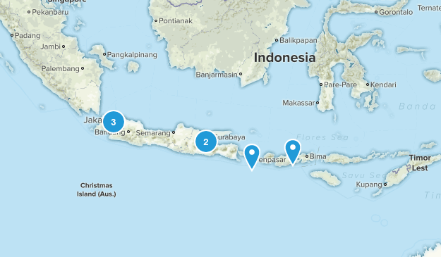 Indonesia River Map