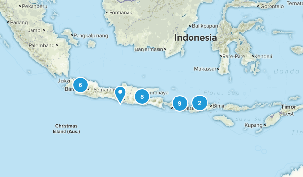 Indonesia Views Map